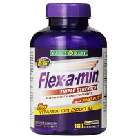 NatureS Bounty Flex-A-Min Triple Strength With Joint FlexPlus Vitamin D3 2000 Iu