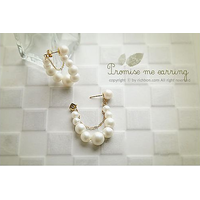 Elegant Beauty imitation pearl earrings jewelry