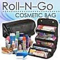 Genuine 4 In 1 Travel Buddy Roll N Go Cosmetic Bag Toiletry Jewelery Organizer
