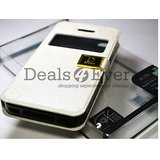 iPhone 5 Cover Flip Cover Imported Premium leather Flip Case Cover pouch Glass
