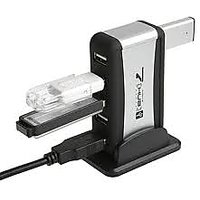 7 Port Usb 2.0 Hub With Power Adapter