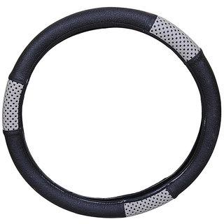 PegasusPremium Fluidic Verna BlackGrey Steering Cover
