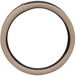 PegasusPremium IndicaVista BeigeBlack Steering Cover