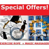 POCKET GYM ROPE Abdominal Exercise Rope YOGA ROPE Fitness Rope