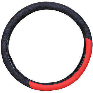 PegasusPremium Swift Dzire BlackRed Steering Cover