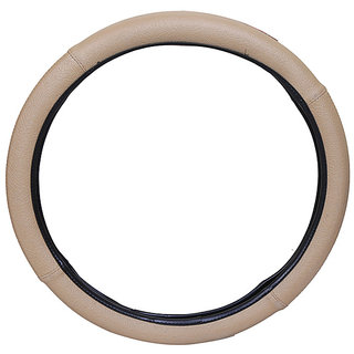 PegasusPremium Swift BeigeBlack Steering Cover