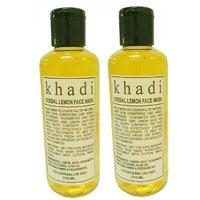 Khadi Lemon Face wash 420ml Set of 2 pcs