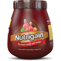 Ayurwin Nutrigain Plus Powder 500Gms Chocolate