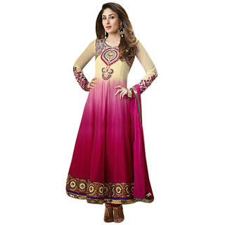 Triveni Kareena Kapoor'S Magificent Emboidered Faux Georgette Anarkali Suit