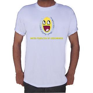 Awesomeness T-shirt By Shopkeeda