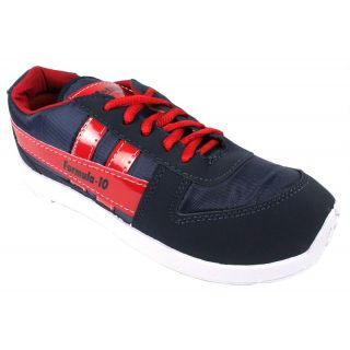 JerryMouse.in Mens Navy Blue-Red Sports Shoe - MSPO0010