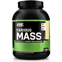 Optimum Nutrition Serious Mass - 12 Lbs (Strawberry)