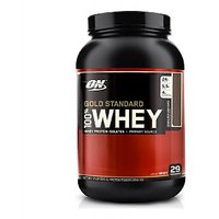 Optimum Nutrition 100 Whey Gold Standard - 2 Lbs (Double Rich Chocolate)
