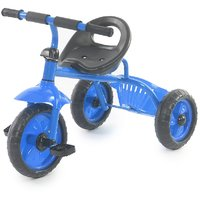 The Flyers Bay Easy To Roam Tricycle With Basket TFB-TriBaskBlue