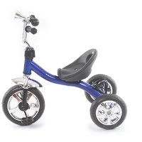 The Flyers Bay Easy To Roam Tricycle With Bottle Holder TFB-TriBottleBlue