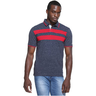 Octave Mens Asphalt Polo Cotton T-Shirt S-147-16-ASPHALT