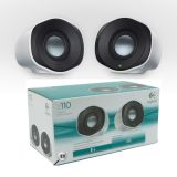 Logitech Usb Stereo Speakers Z110 For Laptop Desktop
