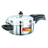 Prestige Deluxe Plus Stainless Steel Pressure Cooker 3 Ltr