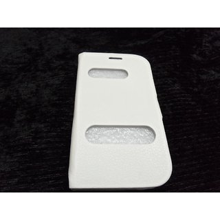 FLIP COVER CASE TABLE TALK FOR SAMSUNG GALAXY GRAND DUOS I9082 WHITE