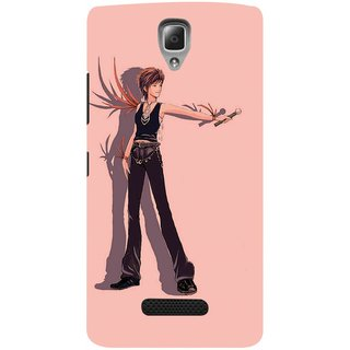 Snooky Digital Print Hard Back Case Cover For Lenovo A2010 85023