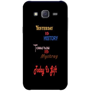 Snooky Digital Print Hard Back Case Cover For Samsung Galaxy J2 85304