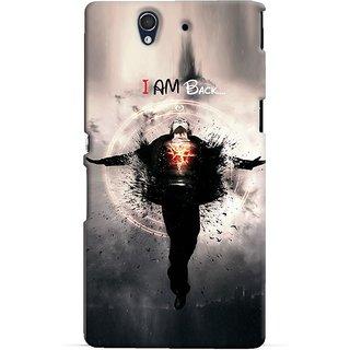Snooky Digital Print Hard Back Case Cover For Sony Xperia Z 86542
