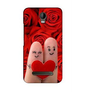 Snooky Digital Print Hard Back Case Cover For Micromax Bolt Q335 135163