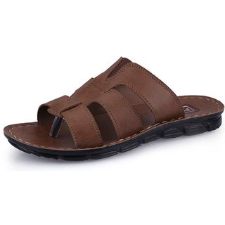Pu Lite Tan Men Sandals