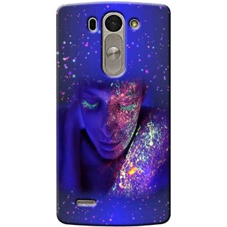 Snooky Digital Print Hard Back Case Cover For Lg G3 Beat 93717