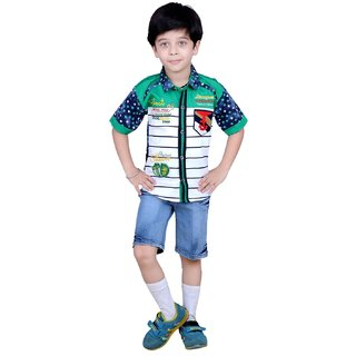 Kids ethnic dresses baby clothing boys Shirt  Shorts combo