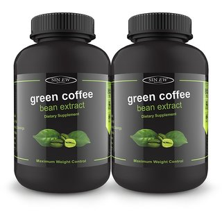 Sinew green coffee Bean Extract 90 caps pack of 2