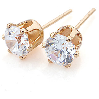 DesiButiks Lovely Golden Environmental Copper Earrings JMP437