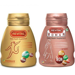 Revital His n Hers Combo Pack for Rs.418 only@Shopclues