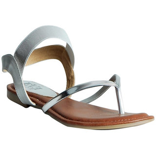 Casual Sandal in Silver