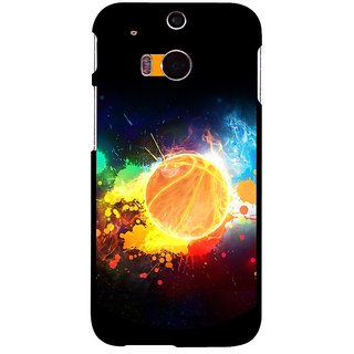 Snooky Designer Print Hard Back Case Cover For Htc One M8 180277
