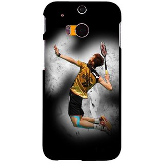 Snooky Designer Print Hard Back Case Cover For Htc One M8 180242