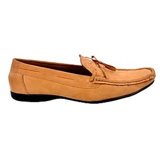 Kewl Instyle Men's Stylish Brown Loafer's - Option 3