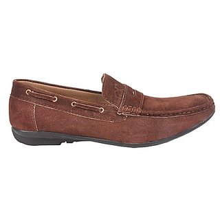 Kewl Instyle Men's Stylish Brown Loafer's - Option 4