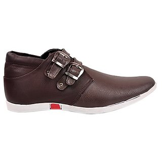 Kewl Instyle Stylish Men's Brown Casual Shoes