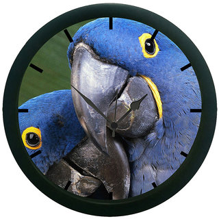 AE World Parrot Wall Clock (With Glass)