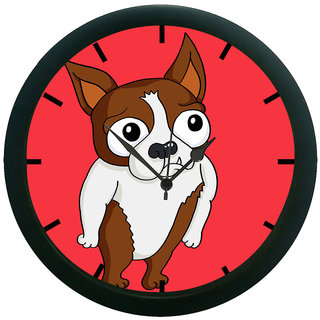 AE World Fox Wall Clock (With Glass)