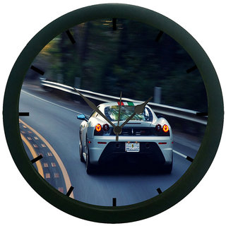 AE World Car Wall Clock (With Glass)