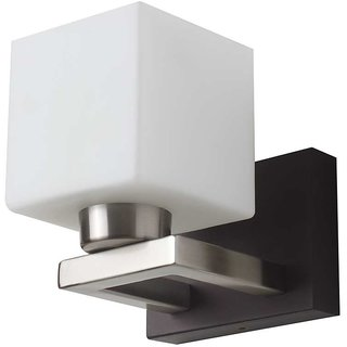 LeArc Designer Lighting Contemporary Glass Metal Wood Wall Light WL1779