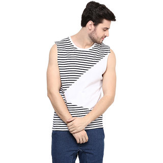 743f2304602 49%off Hypernation Striped Mens Round Neck Muscle T-Shirt