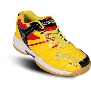 kwickk badminton shoes exceed yellow
