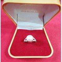 Silver Pearl (Original Sucha Moti) Ring