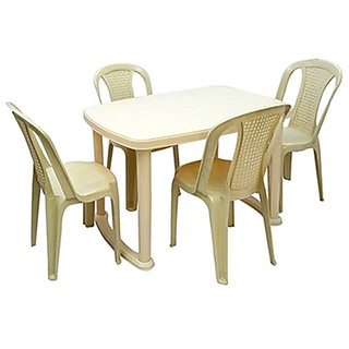 Nilkamal Dining Table Set With 4 Chair Available At ShopClues For