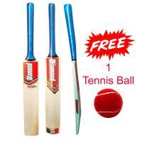 Cricket Tennis Bat - Full Size - Free Tennis Ball