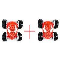 spiderman reversible stunt car (buy1 get 1 Free)