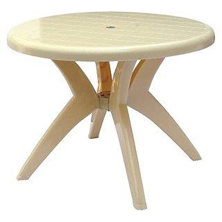 supreme round plastic dining table buy supreme round